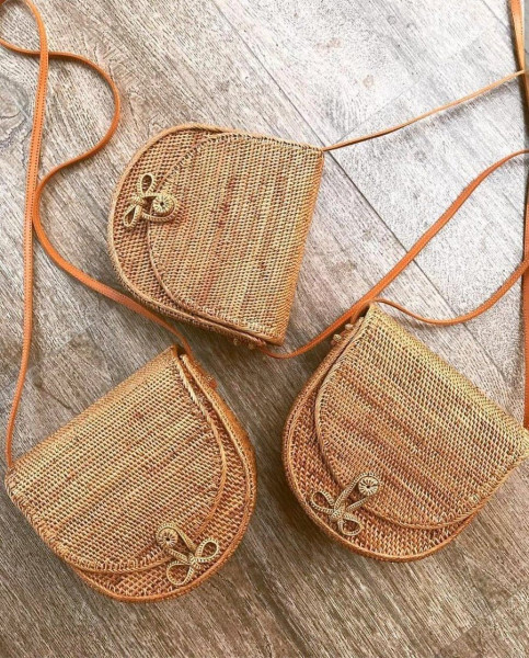 The Purse - Original Rattan Bag - Handmade in Bali