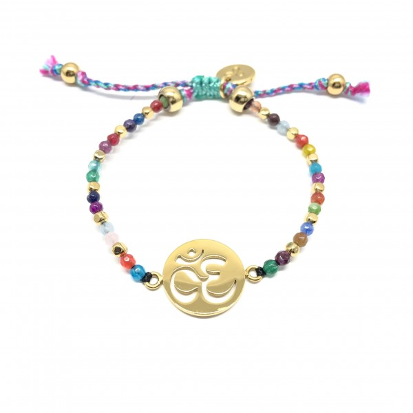 Spiritual OM - Armband aus Gold