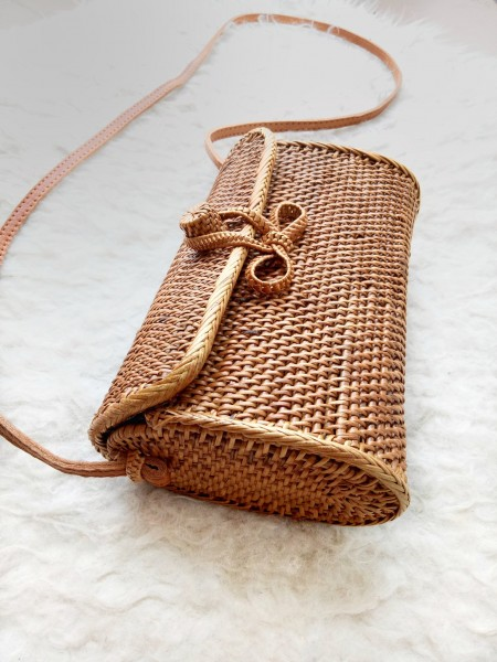 Rattan Bag - The Clutch - Handmade in Bali
